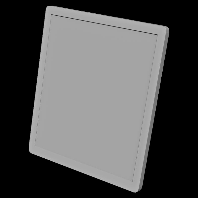タブレットの3Dイラスト