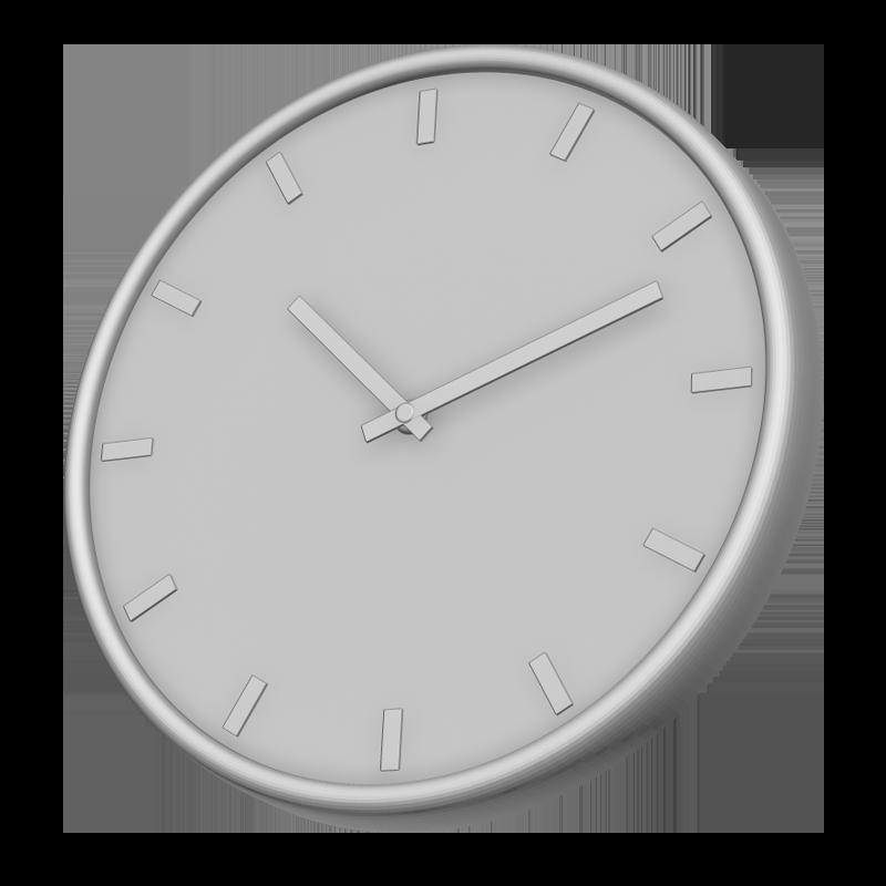 時計の3Dイラスト