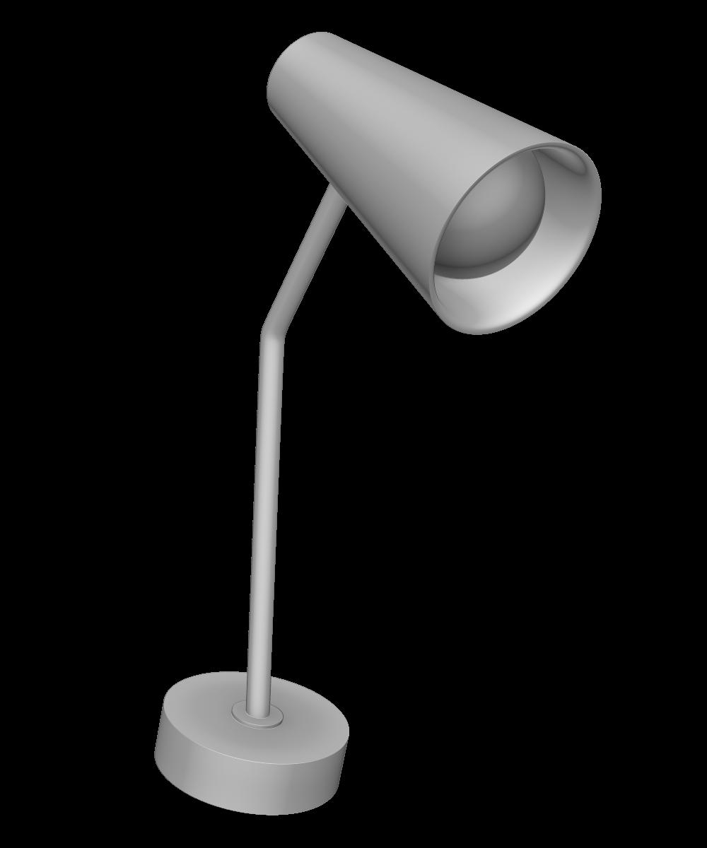 デスクライトの3Dオブジェクト