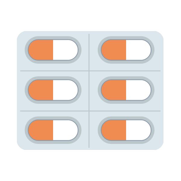 薬・錠剤のイラスト